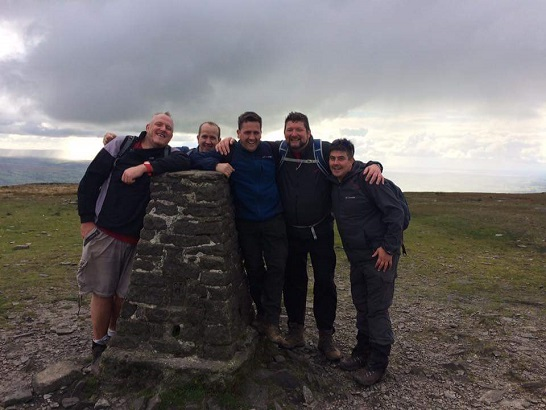 Team Airedale complete Yorkshire 3 Peaks Challenge for charity!