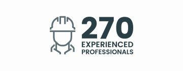 270 Experienced Professionals
