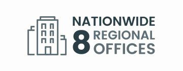8 Regional Offices Nationwide