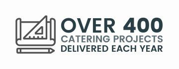 Over 400 Catering Projects Delivered Each Year