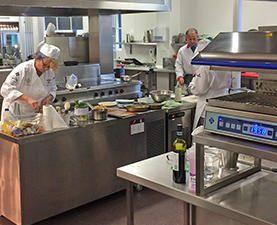 Petroc College Training Kitchens