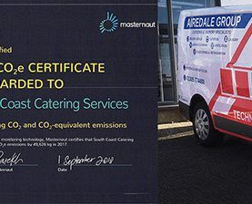 Airedale Recognised For Huge Reduction In Our Fleet's CO2 Emissions!